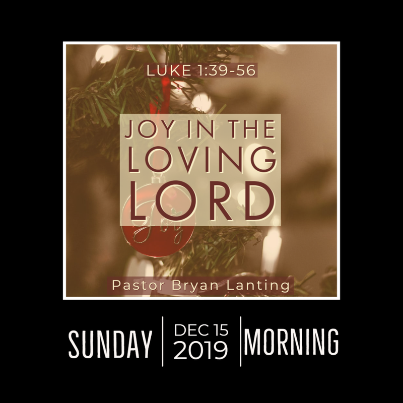 December 15, 2019 Morning Luke 1 Lanting Audio Message