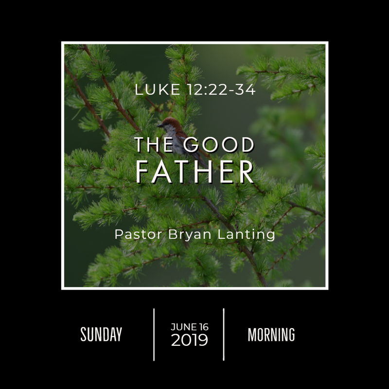 June 16, 2019  Morning Luke 12 The Good Father Lanting Audio Message